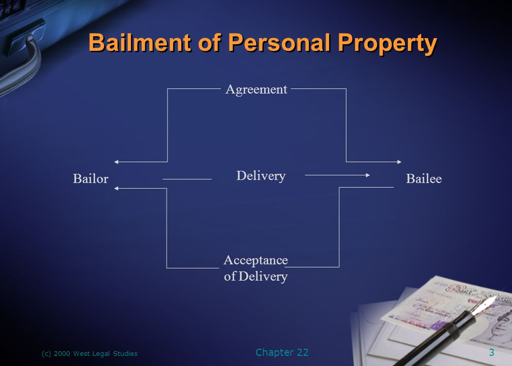 Bailment of Personal Property