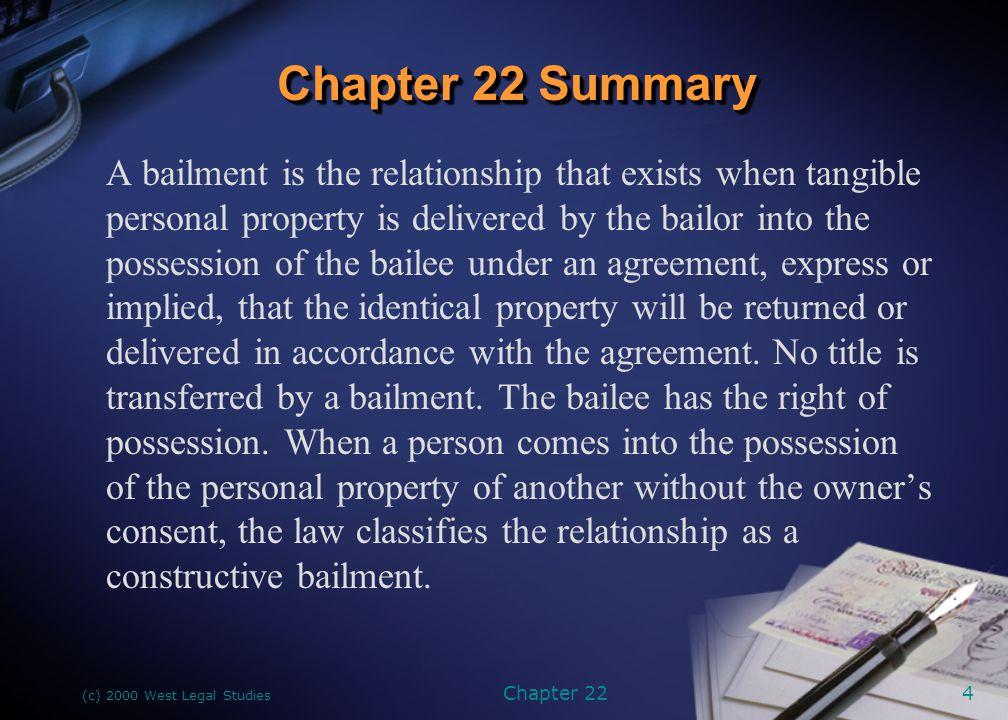 Chapter 22 Summary