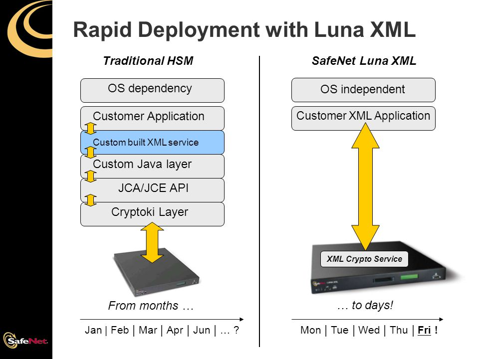 Rapid Deployment with Luna XML