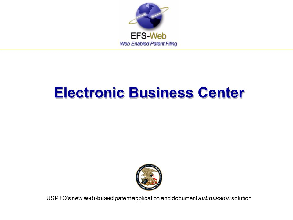 Electronic Business Center