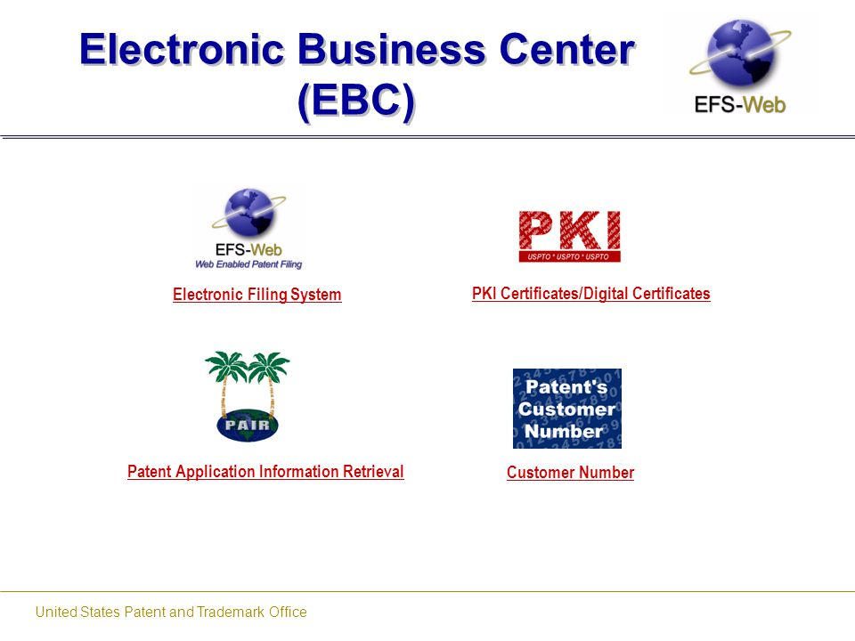 Electronic Business Center (EBC)