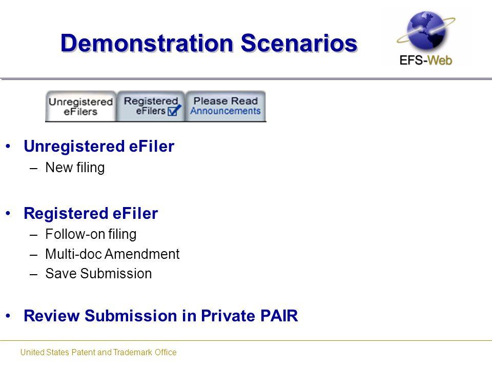 Demonstration Scenarios