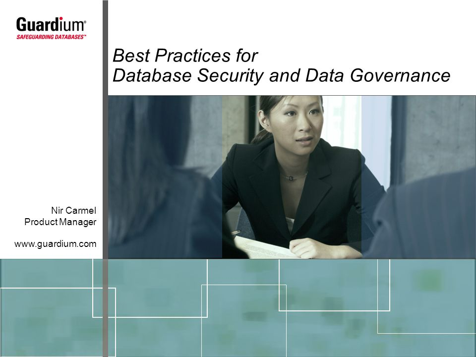 Database Security and Data Governance