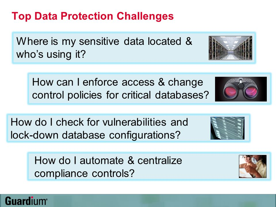 Top Data Protection Challenges