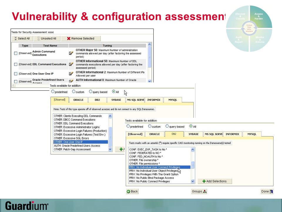Vulnerability & configuration assessment