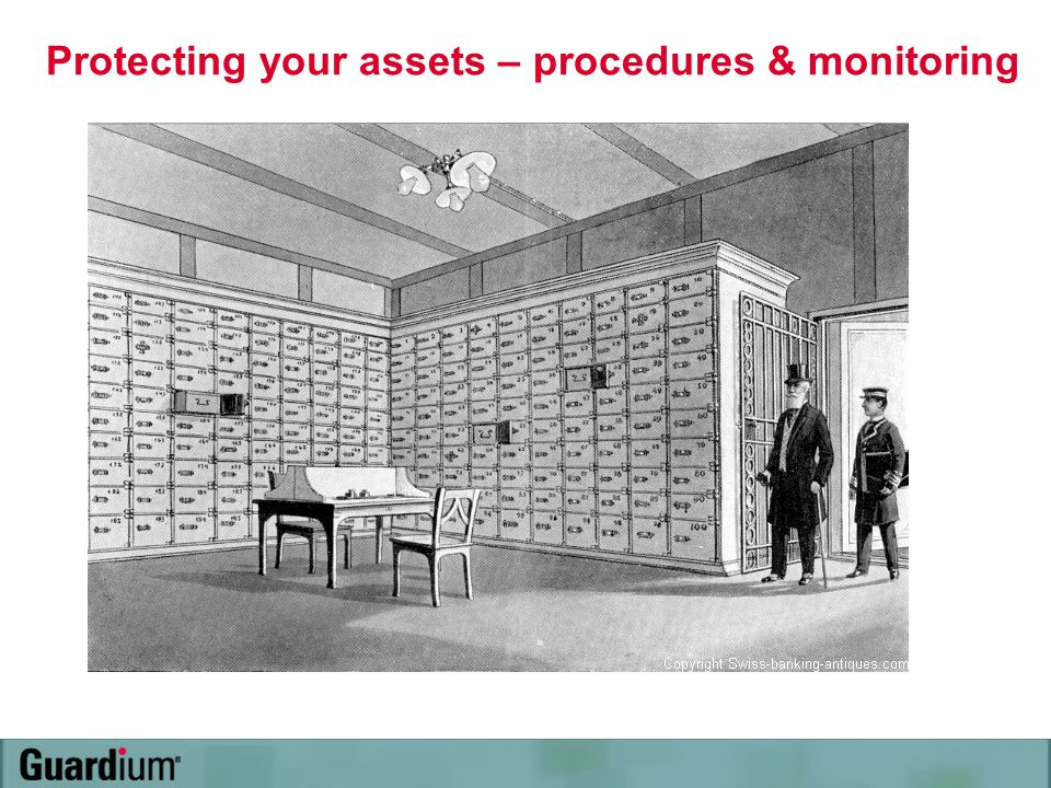 Protecting your assets – procedures & monitoring