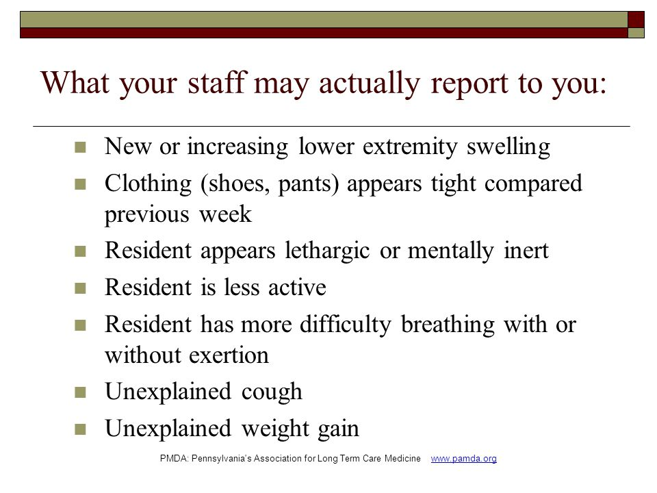 What your staff may actually report to you:
