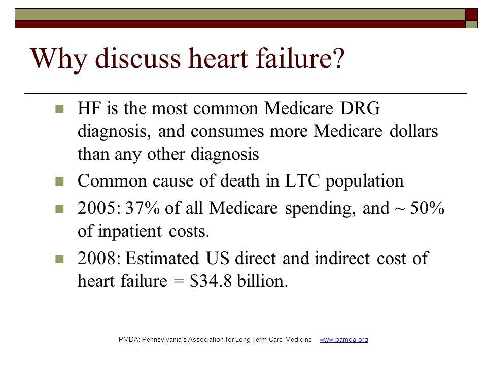 Why discuss heart failure