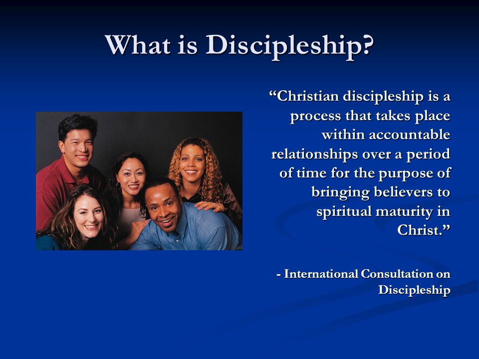 What is Discipleship