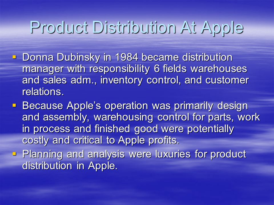 donna dubinsky and apple computers essay