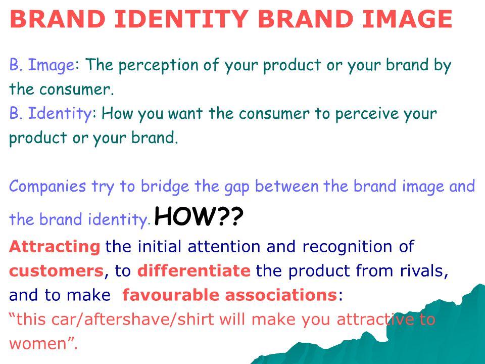 BRAND IDENTITY BRAND IMAGE