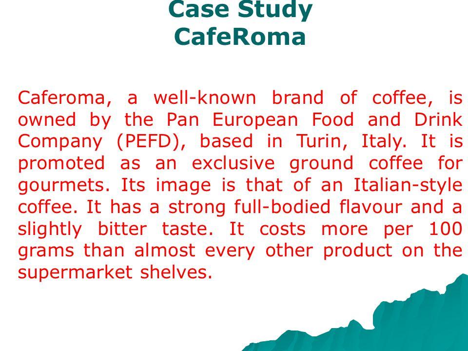 Case Study CafeRoma.