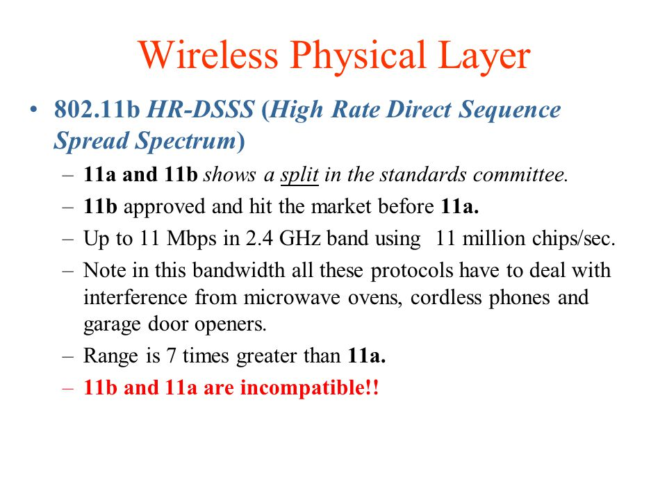 Wireless Physical Layer