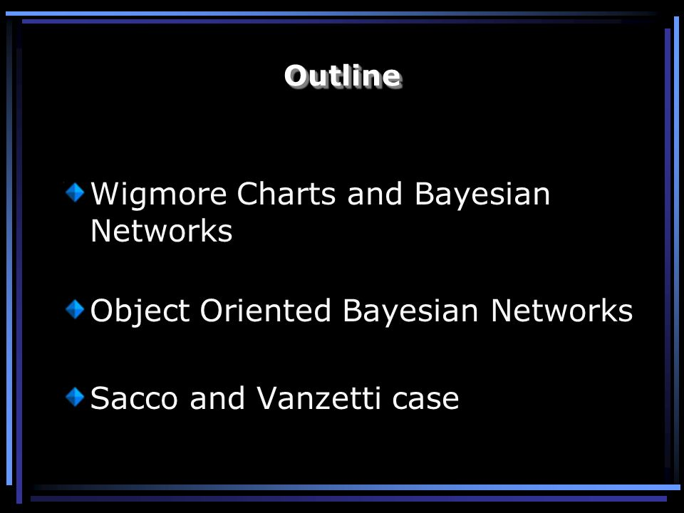 Wigmore Charts and Bayesian Networks
