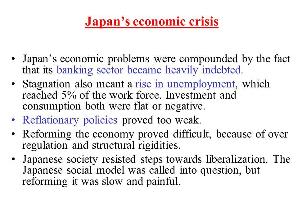 Japan's economic crisis