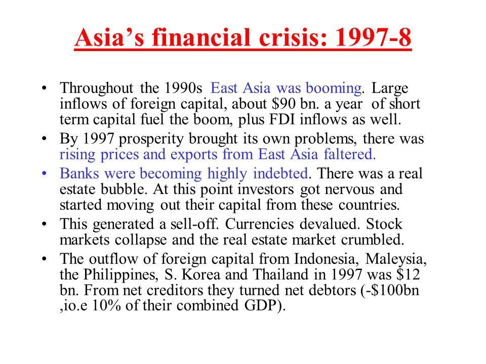 Asia's financial crisis: 1997-8