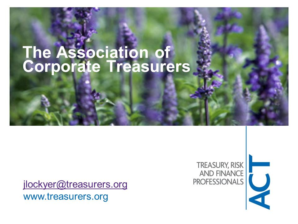 The Association of Corporate Treasurers