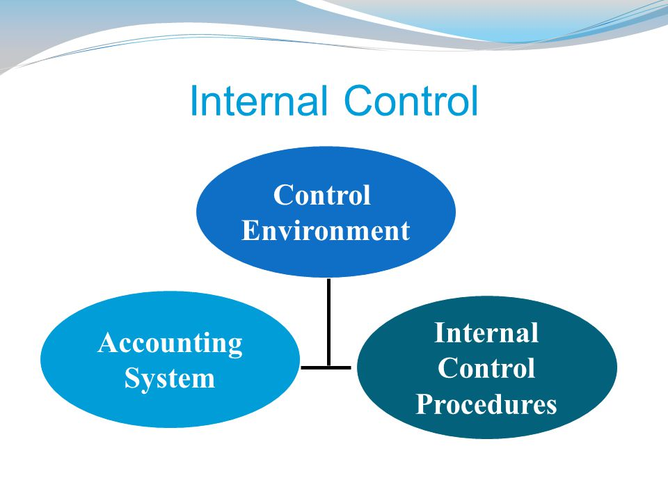Internal Control Control Environment Internal Accounting Control