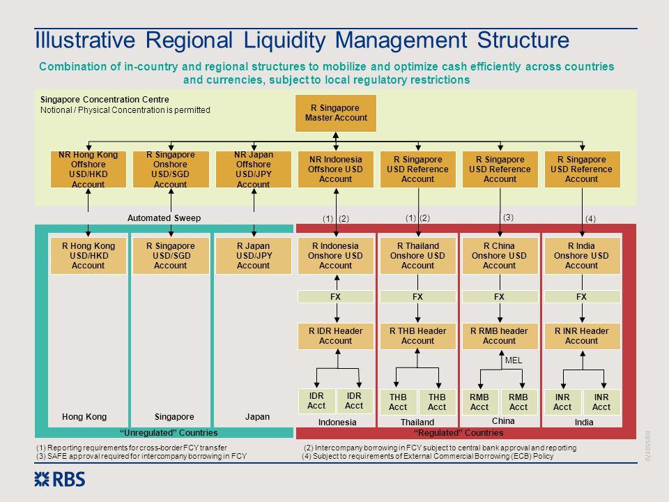 Illustrative Regional Liquidity Management Structure