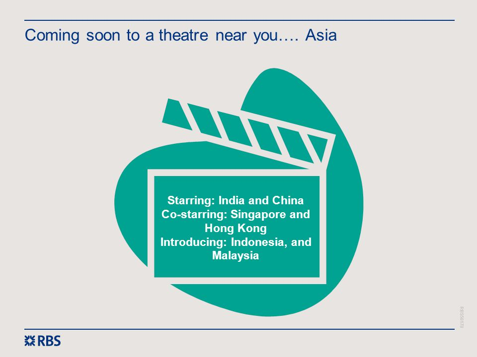 Coming soon to a theatre near you…. Asia