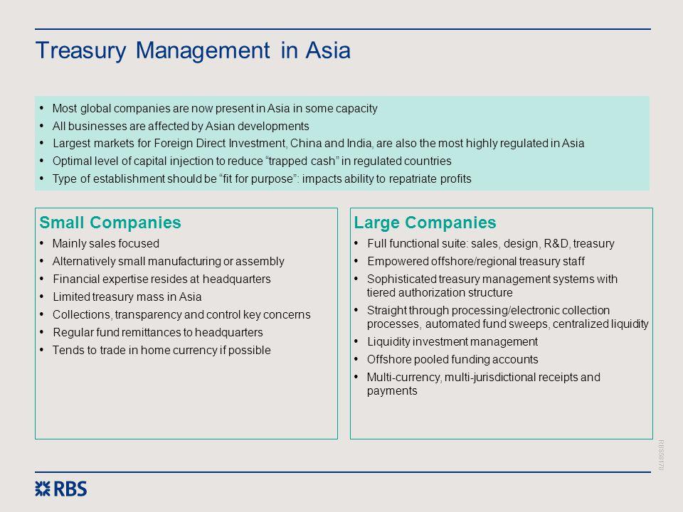 Treasury Management in Asia
