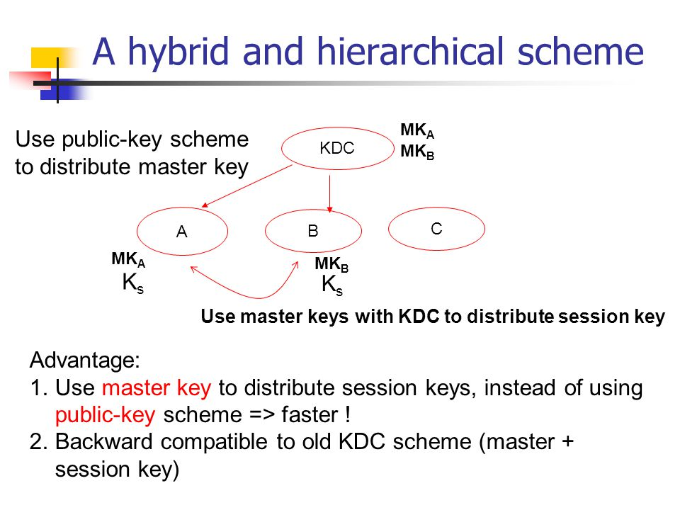 A hybrid and hierarchical scheme