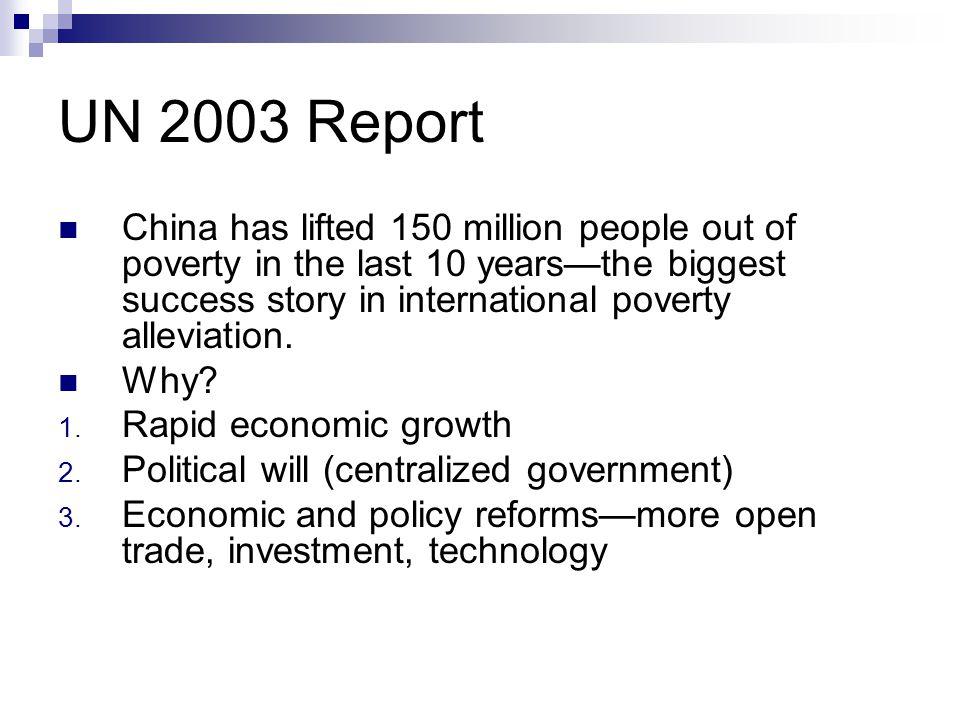 UN 2003 Report