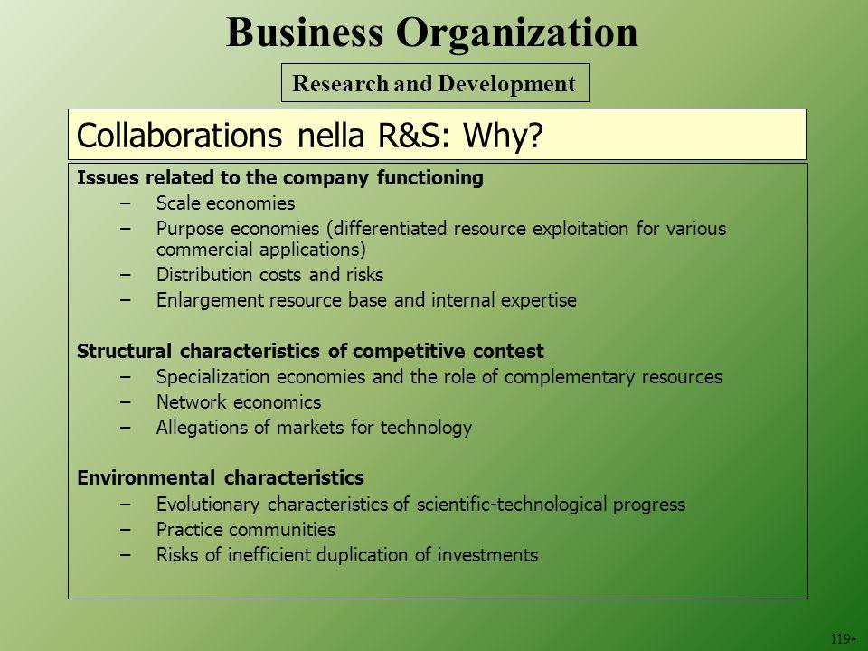 Collaborations nella R&S: Why