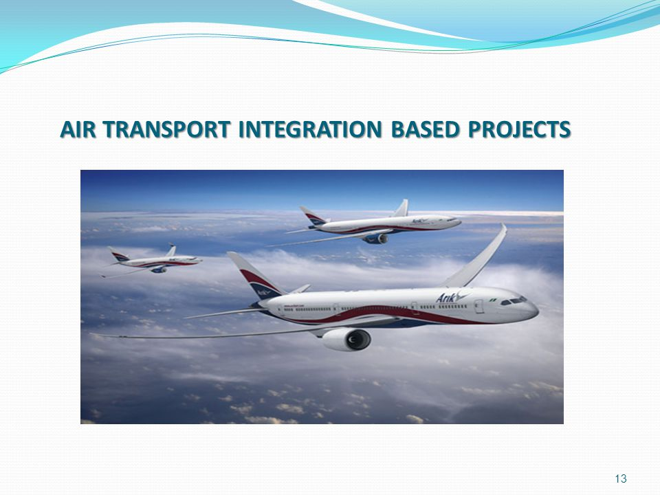 AIR TRANSPORT INTEGRATION BASED PROJECTS
