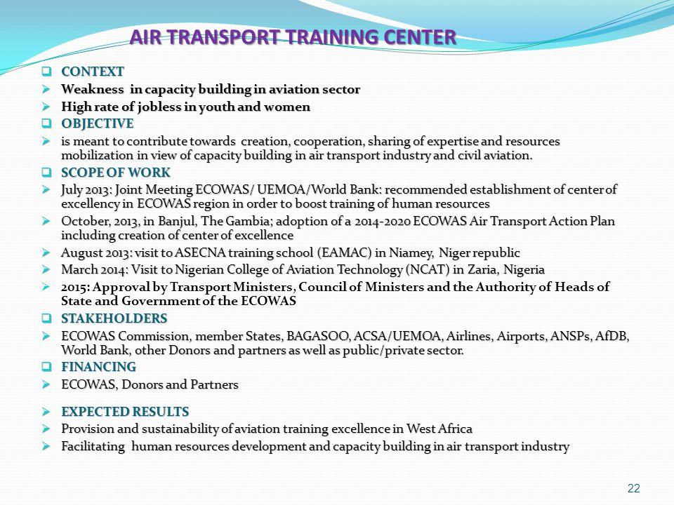 AIR TRANSPORT TRAINING CENTER