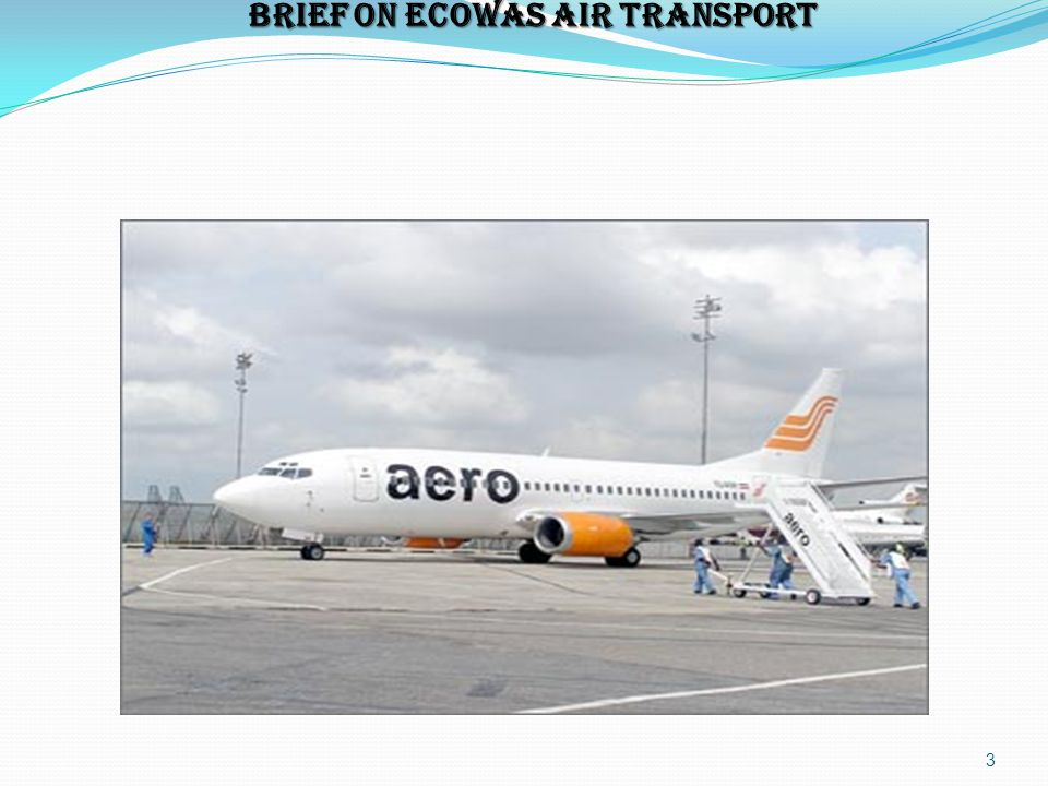 BRIEF ON ECOWAS AIR TRANSPORT