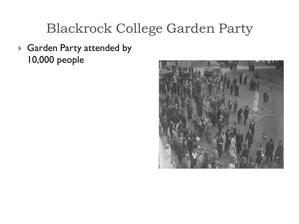 Blackrock College Garden Party