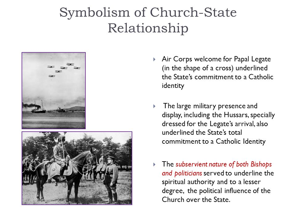 Symbolism of Church-State Relationship
