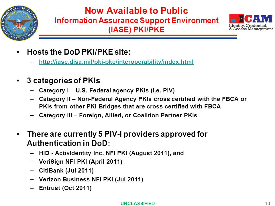 Identity Federations (PKI Based)