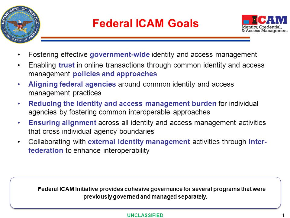 ICAM Scope Non-Persons. Persons. Logical Access. Physical Access.