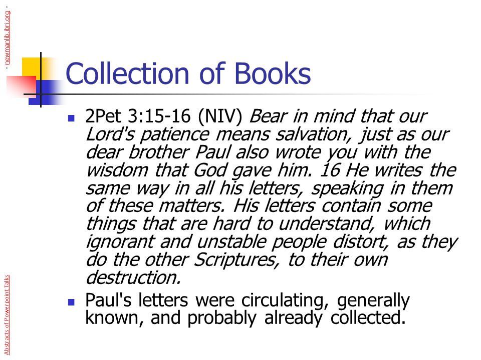 - newmanlib.ibri.org - Collection of Books.