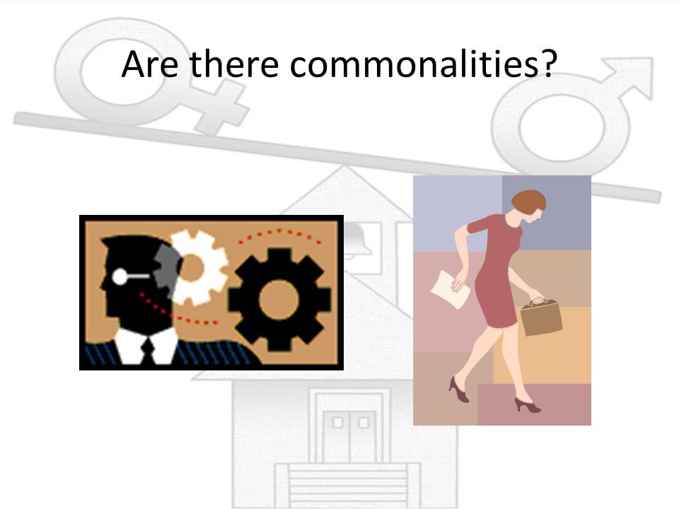 Are there commonalities