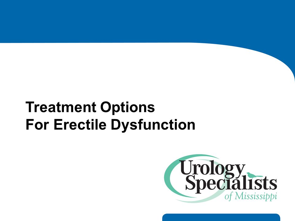 For Erectile Dysfunction