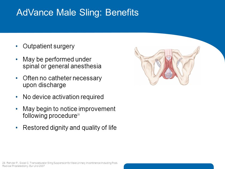 AdVance Male Sling: Benefits