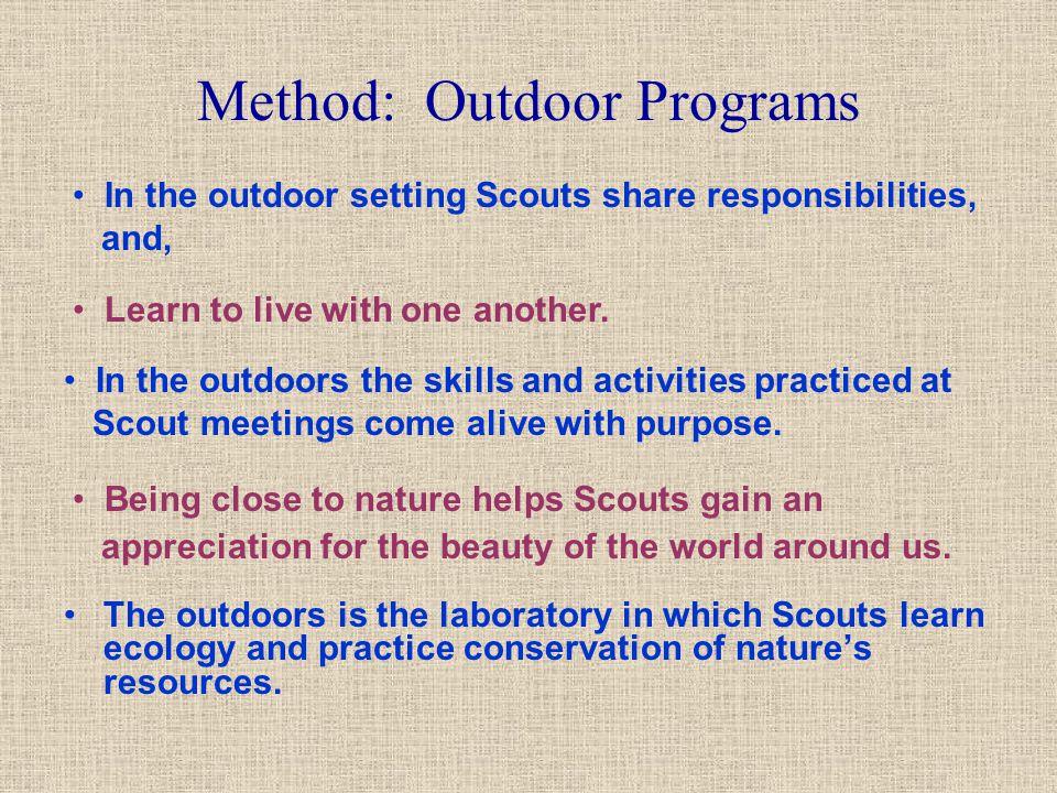 Method: Outdoor Programs