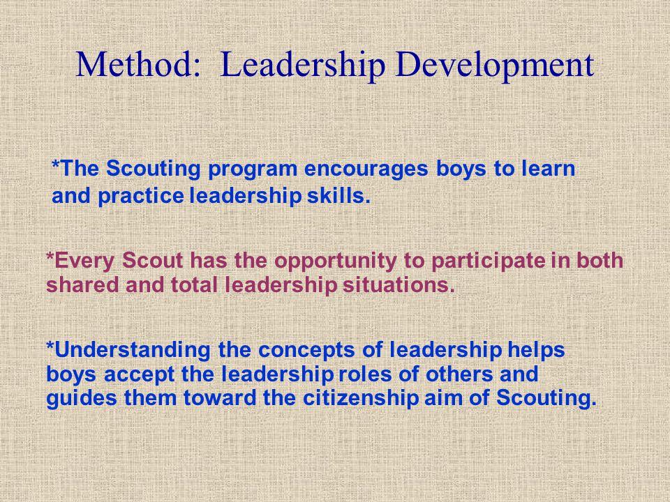 Method: Leadership Development