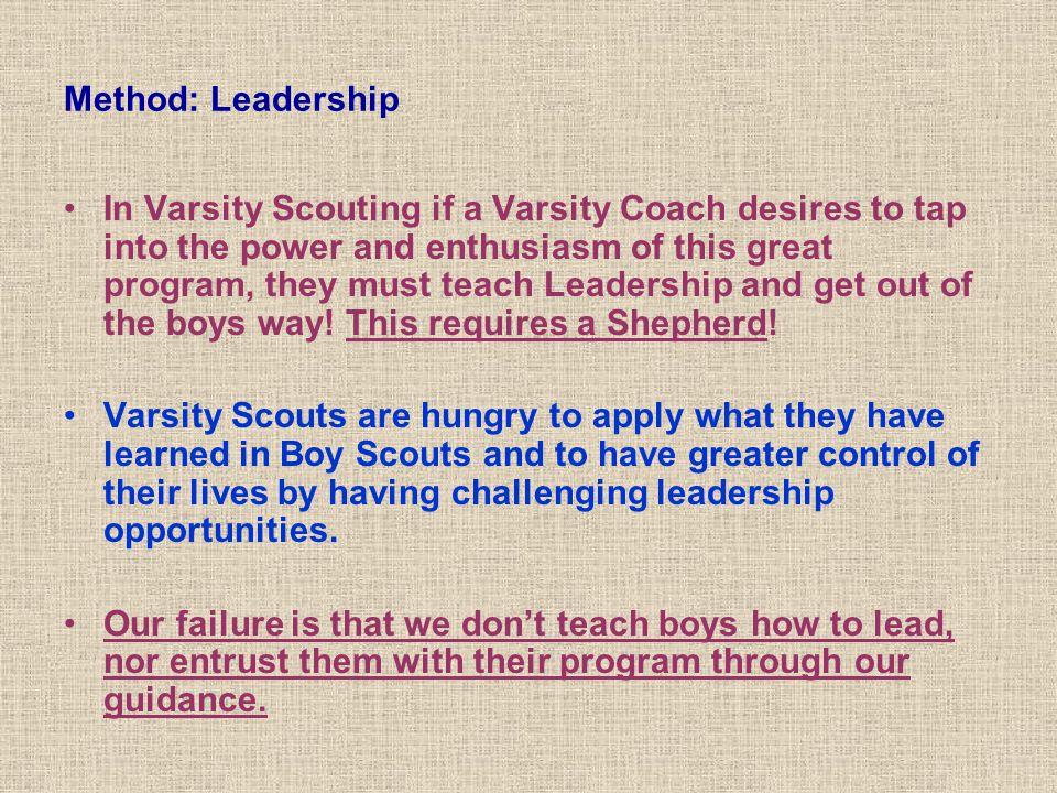 Method: Leadership