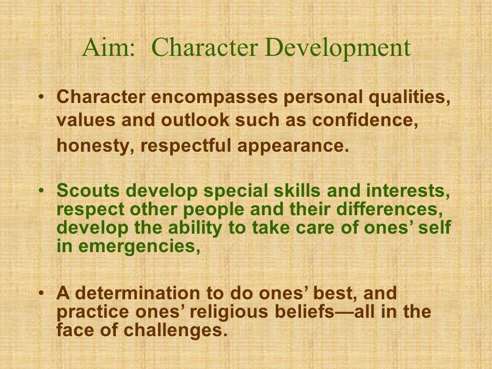 Aim: Character Development