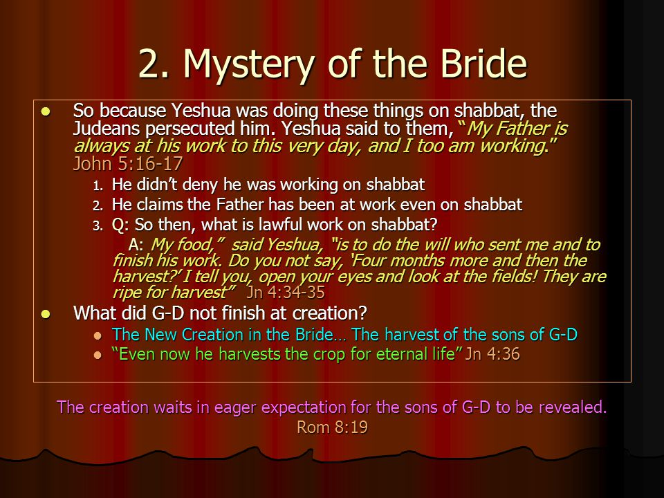 2. Mystery of the Bride