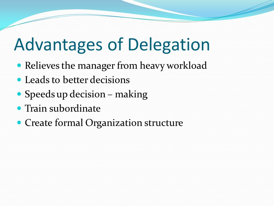 principles of effective delegation pdf