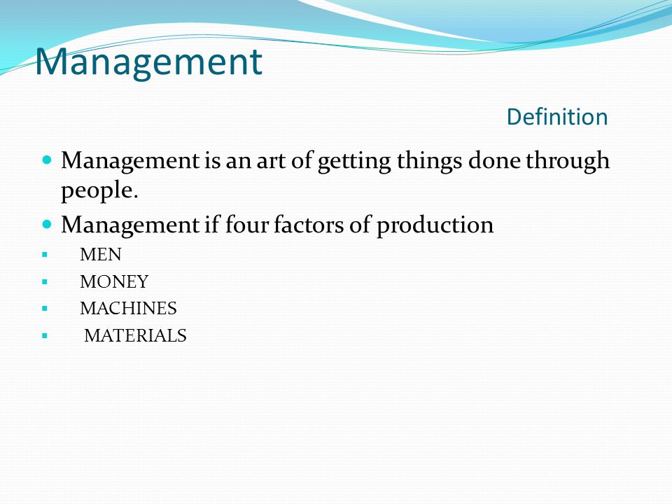 Management Definition