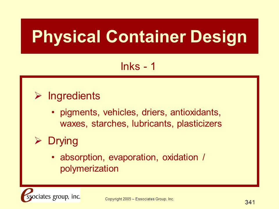 Physical Container Design