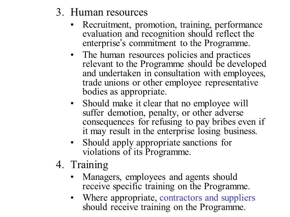 Human resources Training