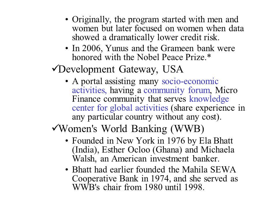 Development Gateway, USA