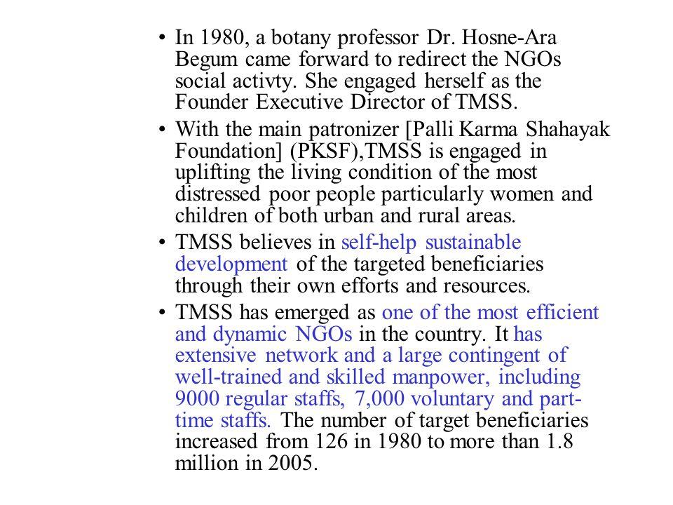 In 1980, a botany professor Dr